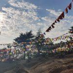 Tibetische Flaggen Himalaya