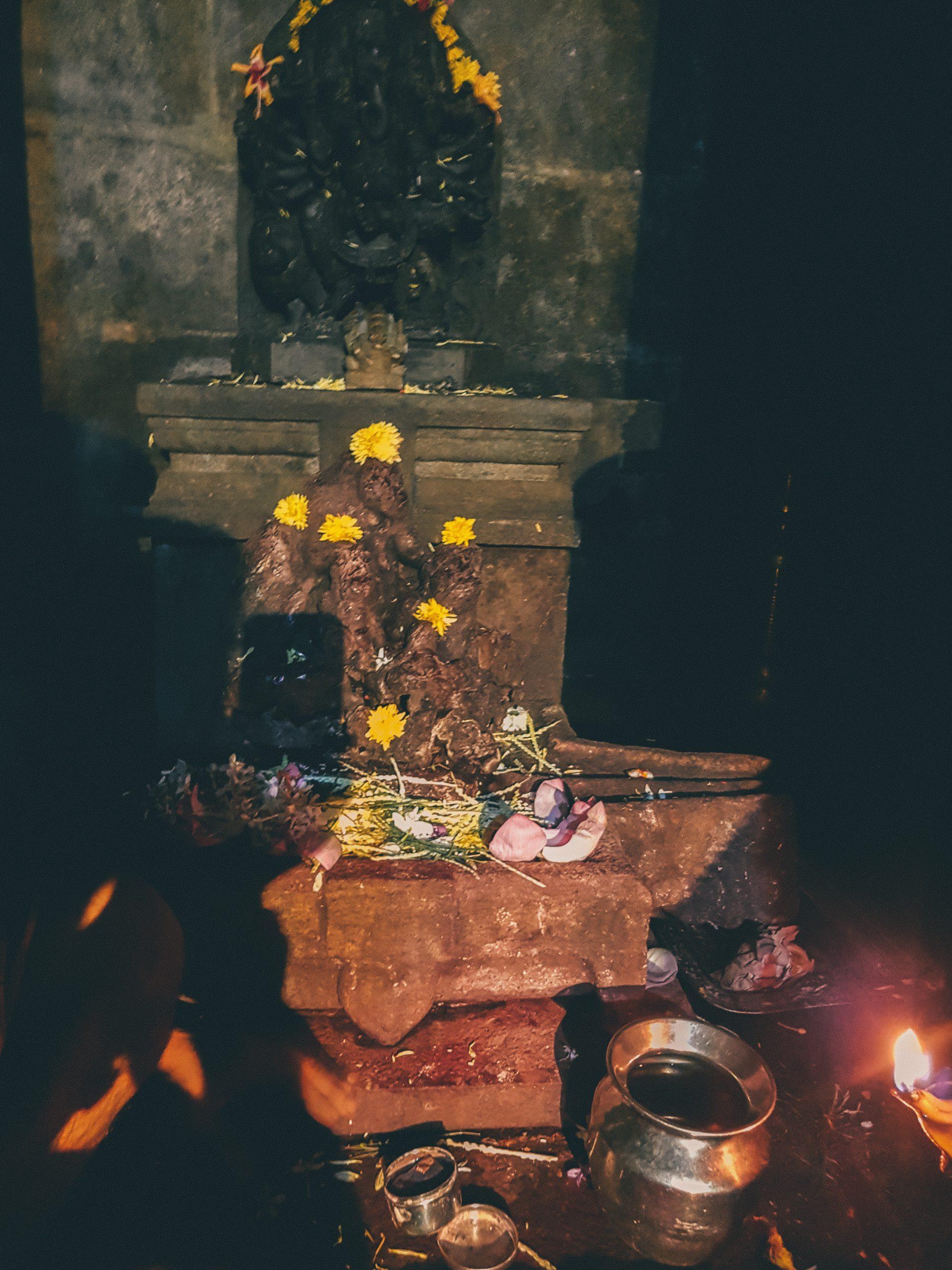 tempel Hinduismus Altar