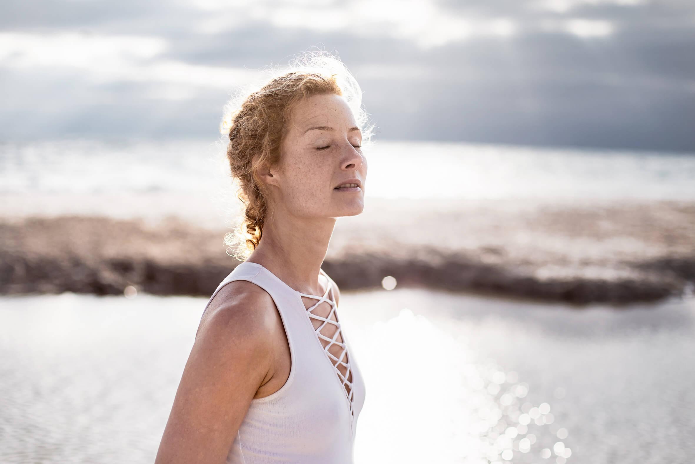 Sandra Mühmel-Yogaunterricht Hamburg-Yogaretreat Meer-Atmen